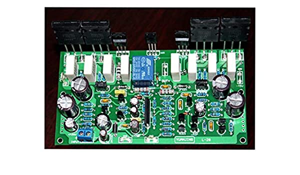 L28 Mono Audio Power Amplifier Kit AMP 350W 4ohm Board With Speaker Protect