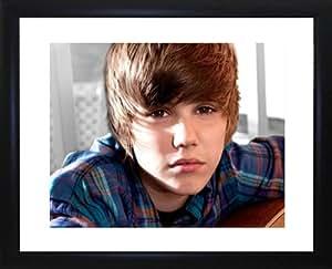 Justin Beiber Framed Photo