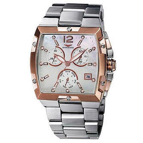 Reloj Sandoz Caractere 81280-90 Hombre Blanco