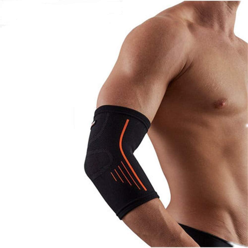 SOFIT GS08 Sports Activa Protección del Brazo Manguitos de Brazos - Compresión, Respirable, Sudar Absorbente, Anticolisión, Mejor Protección del Codo, Baloncesto, Tenis