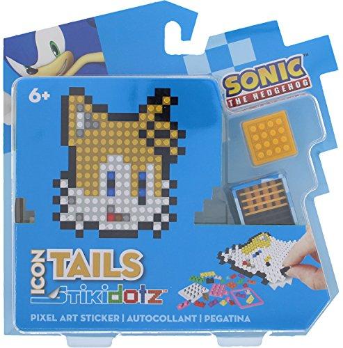 STiKidotz 3D Pixel Art Set with Icon Sonic design Tails by STiKidotz