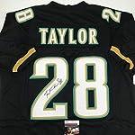 b204d28b Fred Taylor Signed Jersey - Black COA - JSA Certified - Autographed NFL  Jerseys.