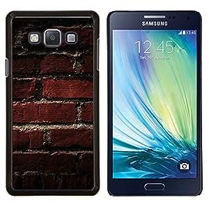 EJOOY---Cubierta de la caja de protección para la piel dura ** Samsung Galaxy A7 A7000 ** --Modelo de la textura de ladrillo viejo