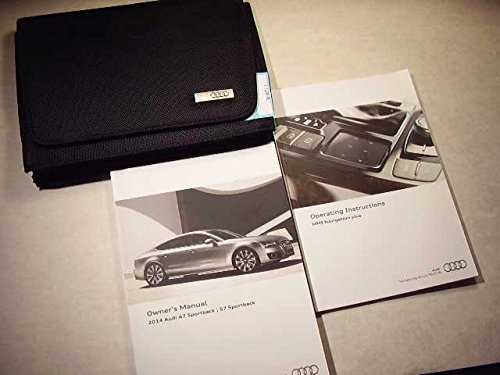 2014 Audi A7, S7 Sportback with navigation manual Owners Manual