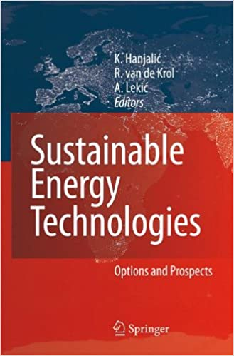 Sustainable Energy Technologies: Options and Prospects