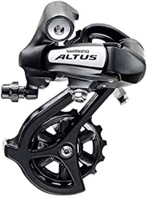 Shimano Altus RDM310DL - Cambio M310 7/8 Velocidades , color negro: Amazon.es: Deportes y aire libre