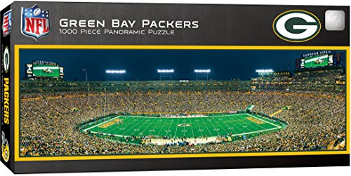 MasterPieces NFL Green Bay Packers 1000 Piece Stadium Panoramic Jigsaw Puzzle