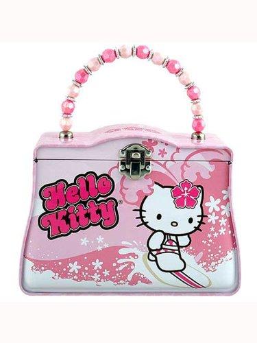 Hello Kitty Tin Lunch Box - Sanrio Hello Kitty Tin Box (Surfing)