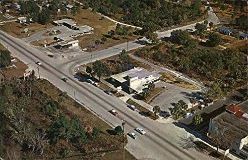 (Aerial of Homosassa Springs Homosassa Springs, Florida Original Vintage Postcard)