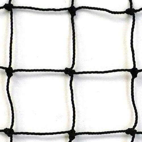 Just For Nets #18 Twisted Knotted Nylon Baseball Backstop Net, 10' x 10' - Baseball Backstop Netting