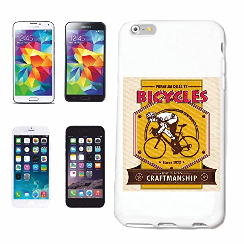 "cas de téléphone iPhone 6S ""VELOS VÉLO DE MONTAGNE DE BICYCLETTE REPARATION CYCLISME SPORT BIKE TOUR VELO SHIRT"" Hard Case Cover Téléphone Covers Smart Cover pour Apple iPhone en blanc"