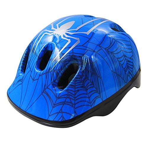 KUYOU Toddler Bike Helmet, Multi-Sport Lightweight Safety Helmets for Cycling/Skateboard/Scooter/Skate Inline Skating/Rollerblading Protective Gear Suitable Boys/Girls (1-6 Year Old),(Blue)