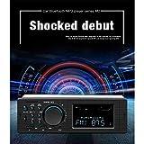 DishyKooker Car Radio SWM M2 Car Stereo MP3 Music Player FM Radio Blueteeth USB TF AUX Head Unit BT Music Player Auto Parts Motorcycle Fittings Car Accessories