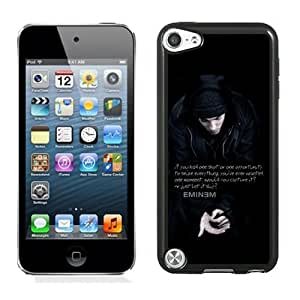 DIY Ipod Touch 5 Case Design with 8 Mile Ipod Touch 5 5th Generation Phone Case in Black