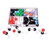 Molecular Model Kit for Organic & Inorganic Chemistry - 50 Atoms & 90 Bonds (140 Total Pieces) by University Chemistry Co.