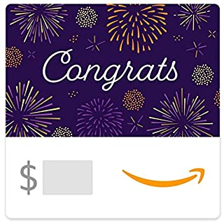 Amazon eGift Card - Congrats Fireworks (B07TLL1H7F) | Amazon price tracker / tracking, Amazon price history charts, Amazon price watches, Amazon price drop alerts