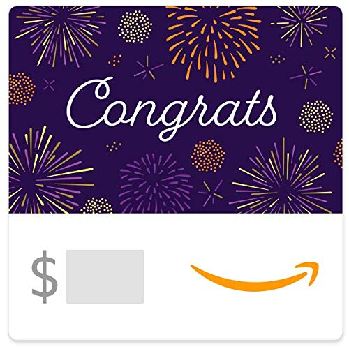 Amazon eGift Card - Congrats Fireworks