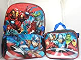 Best AVENGERS Book Bags - Avengers Boys Backpack School Backpack Lunch Box Book Review