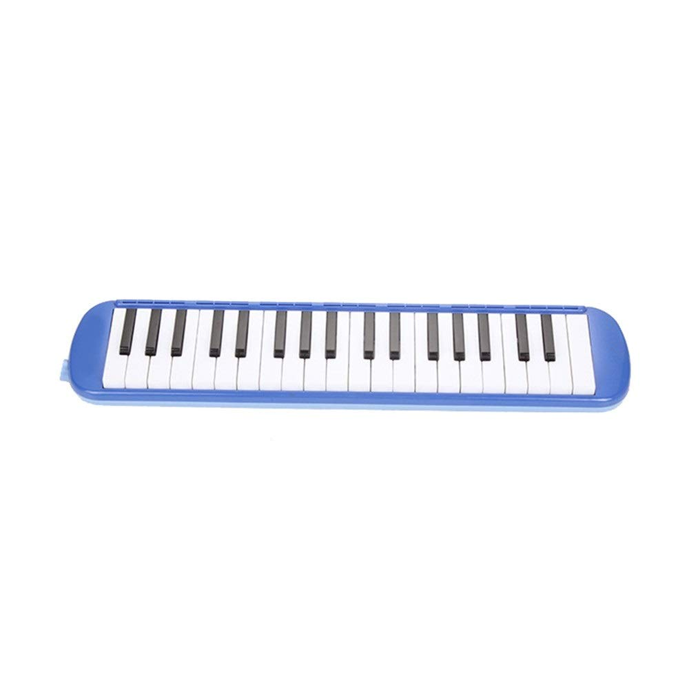 Melodica Musical Instrument Beginners Kids Musical Instrument 37 Keys Portable Pianica Melodicas With Carrying Bag Gift Toys For Music Lovers Mouthpieces Tube Sets Black Blue Pink For Music Lovers Beg by Kindlov-mus (Image #2)