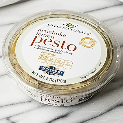 Artichoke Lemon Pesto by Cibo (6 onzas): Amazon.com: Grocery ...