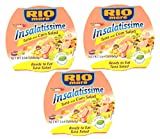 3 RIO MARE INSALATISSIME CANNED TUNA SALAD READY TO EAT 3 x 160 gr.( 480 gr)