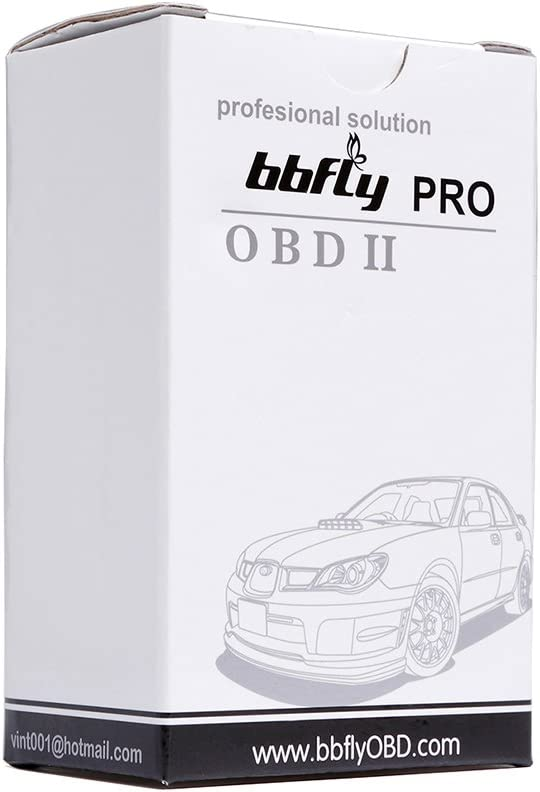 bbfly-BB77105  Wifi Forscan Elmconfig HS-can//MS-can Compatibile con Ford E Mazda OBD2 pour iPhone iPad