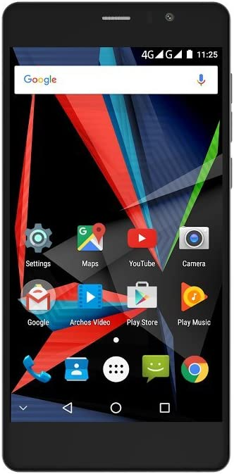 Archos Diamond 55 Selfie Lite SIM Doble 4G 16GB Negro: Amazon.es ...