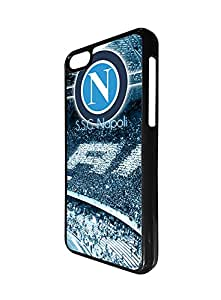 Football Team Logo Design Ipod Touch 6th Funda Case for Girl, Napoli Football Club Logo Ipod Touch 6th Funda Case- Italian Serie A Thin Fit Case Cover