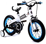 "Royalbaby Button freestyle girl's boy's kids children bike bicycle, 10 colours, in size 12"", 14"", 16"" with stabilisers."