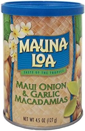 マウナロアマウイオニオン&ガーリック マカデミアナッツ 缶 127g