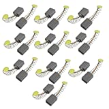Uxcell Power Tool Motor Carbon Brushes, 5 x 5 x 10mm, 10 Pair