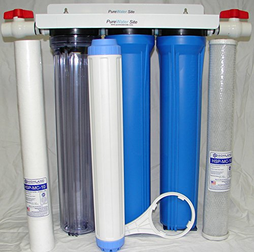 Amazon com: Whole House Well Water Filtration System for Iron