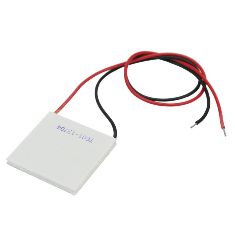 Karcy Thermoelectric Cooler Panel TEC1-12704 12V 37W Heatsink Thermoelectric Cooling Plate Module 40x40mm