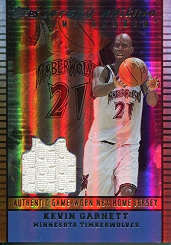 - Kevin Garnett Minnesota Timberwolves 2003 Topps Home Cookin' Game Used Jersey Card - Basketball Game Used Cards