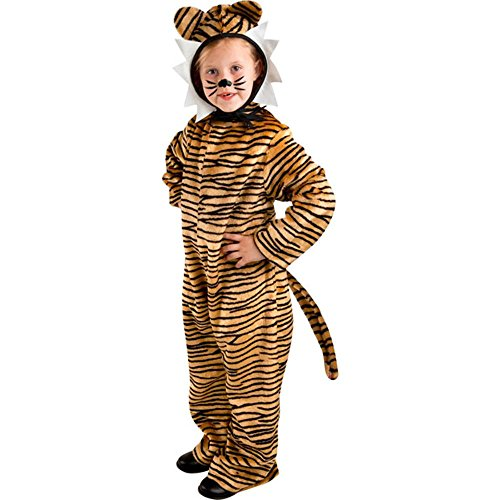 Kid's Animal Tiger Costume (Size:X-small 4-6)]()
