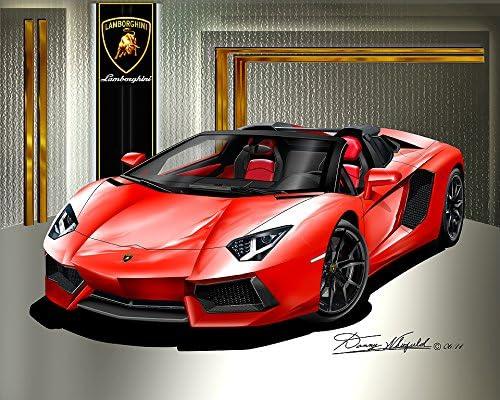 """20/"""" Lamborghini poster wall art home decor photo print 16/"""" 24/"""" sz"""