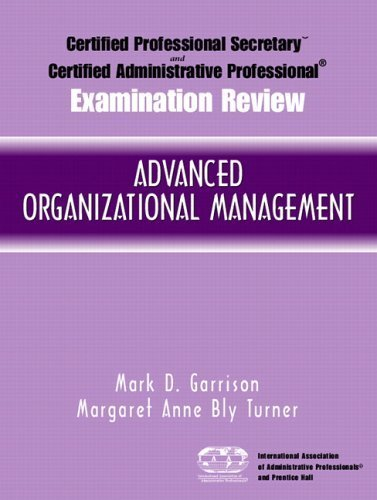 certified administrative professional cap examination review for