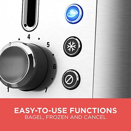 BLACK+DECKER TR3500SD Rapid Toast 2-Slice Toaster, Bagel Toaster, Stainless Steel