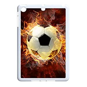 Personalized New Print Case for Ipad Mini, Fire Soccer Ball Phone Case - HL-R661632