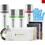 TouchUpDirect Ford Exact-Match Automotive Touch-Up Paint - Ruby Red Tricoat RR - Aerosol - Platinum Package