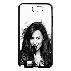 Samsung Galaxy N2 7100 Cell Phone Case Black Demi Lovato Personalized Phone Case Cover Clear CZOIEQWMXN17553