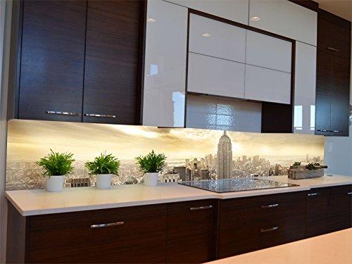 Dalinda® Küchenrückwand Küchenboard Küchenrückseite mit Design New ...