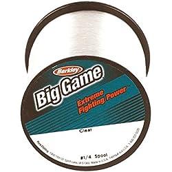 Berkley Trilene Big Game Monofilament Custom Spool, Clear, 30 Pound