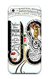 Iphone 5c Case Slim [ultra Fit] Music Art Protective Case Cover