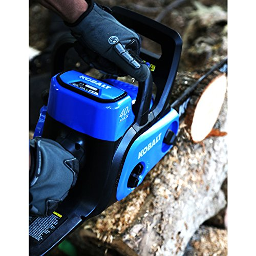 Kobalt 40-volt Max Lithium Ion 12-in Cordless Electric Chainsaw