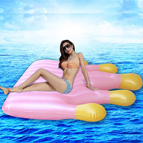DMGF Queen Crown Inflatable Pool Floats Rapid Valves Swim Ring Toy Summer Beach Party Loungers Water Sport Raft Tube Floats For Adults Kids by DMGF (Image #3)