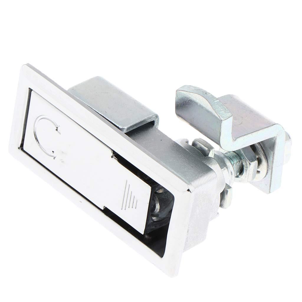 Mini Flush Mount Lock Anti Corruzione Compressione Porta Serratura Chiusura