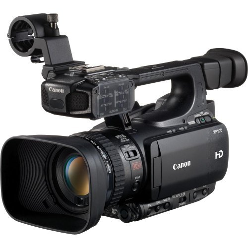 Canon XF100 Professional Camcorder with 10x HD Video lens, Compact Flash (CF) Recording by Canon