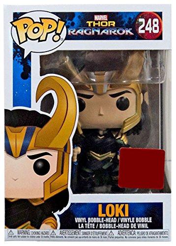 Funko Pop Vinyl Marvel Thor Ragnarok Movie Collector Corps Loki With Helmet Figure 248 (Thors Helmet)