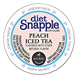 Snapple Diet Iced Tea, Peach, 22 Count Net Wt. 3.1 oz